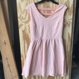 Barely worn dress with pattern